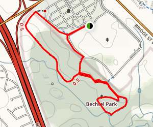 Bechtel Park Loop Trail  Map