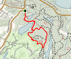 Tour de Pants and Golf Trek Trail Map
