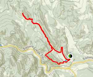 Eagle Hill Trail and Deer Ridge Trail Loop Map