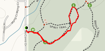 Spirit Trail Map