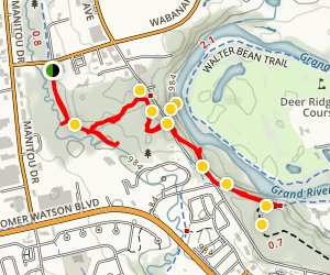 Homer Watson Park Trails Map
