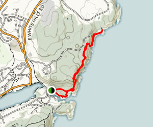 Sugarloaf Path Map