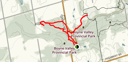 Primrose Loop Trail Map