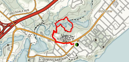 Cherry Hill Loop Trail Map