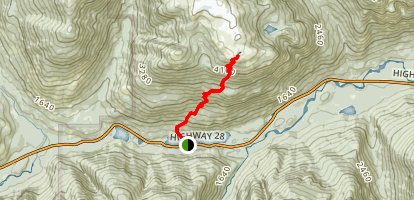Crest Mountain Map