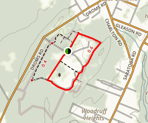Indian Meadows Park Loop Trail Map
