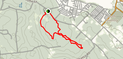 Nathan Hale State Park Loop Trail Map
