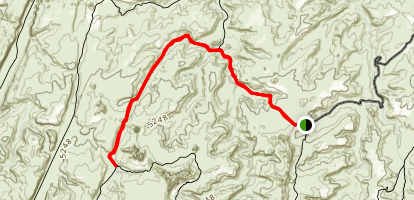 Elephant Hill Trail Map
