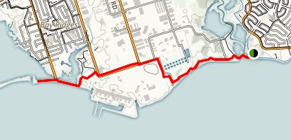 Waterfront Trail Via Duffins Creek Map