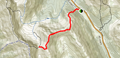 Highwood Ridge & Grizzly Col Map