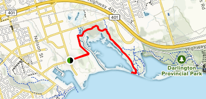Second Marsh Wildlife Trail [CLOSED] Map