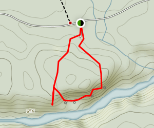 Barron Canyon Hiking Trail Map