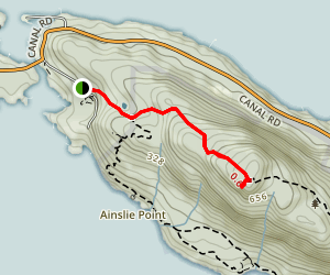 Mount Norman Trail Map