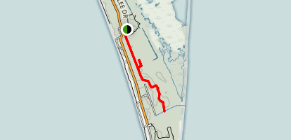 Anders Footpath to Chinquapin Oak Trail Map