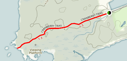 Cranberry Trail Map