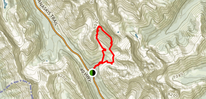 Mount Arethusa Loop Map