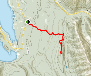 Whiskey Jack Lookout [CLOSED] Map