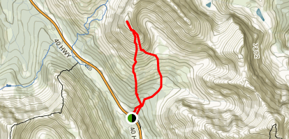 Little Arethusa Route Map