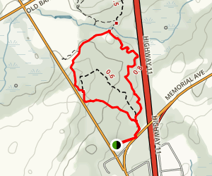 Scout Valley Loop Trail  Map
