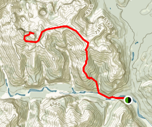 Devil's Head Map