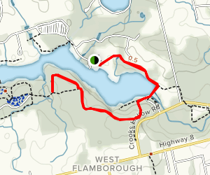 Round the Lake Trail Map