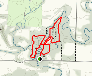 Archie Coulter Conservation Area Trails Map