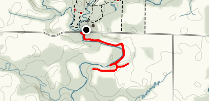 Broken Wheel Trail Map