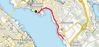 Dartmouth Waterfront Trail Map