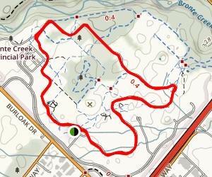 Bronte Creek Park - Outer Trail Map