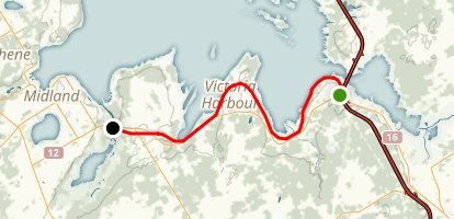 Tay Shore Trail  Map