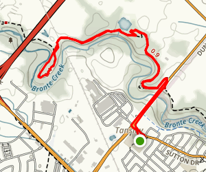 Bronte Creek North Trail Map