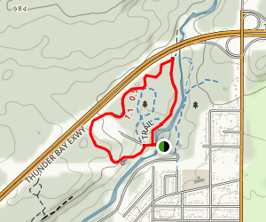 Centennial Park Loop Trail  Map