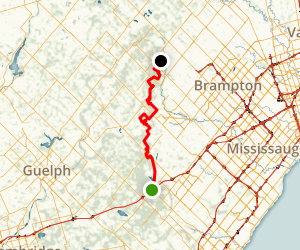 Bruce Trail: Toronto Section Map