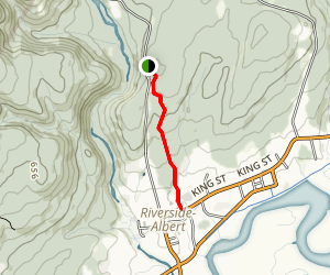Crooked Creek Trail  Map