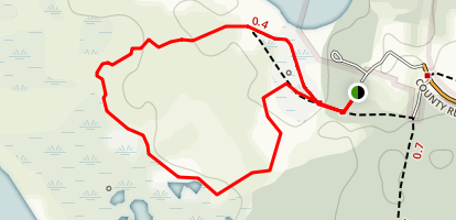 Dunes Nature Trail Map