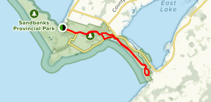 Woodlands Trail Map
