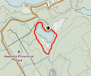 Wendat Trail Map