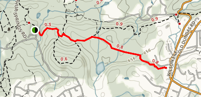 Heritage Trail at Dundas Valley Map