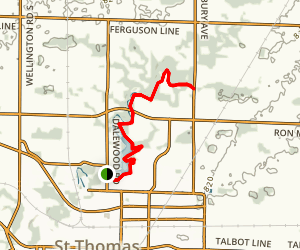 Dalewood Trail Map