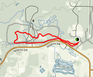 Aspen and Bluestem Loop Trail Map