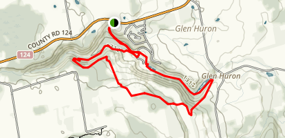 Devil's Glen Loop Trail Map