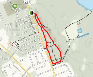 Upper Terrace Trail Map