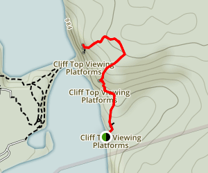 Clifftop Trail Map
