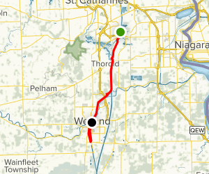 Welland Canal Parkway Trail  Map