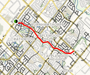 Applewood Trail Map