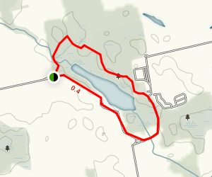 Lake Whittaker Walking Trail Map