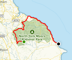 The Cleveland Way Map