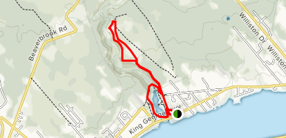 French Fort Cove Trail Map
