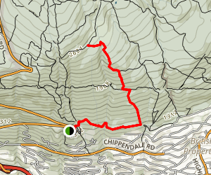 Upper and Lower Brewis Trail Map