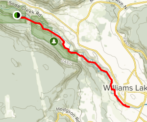 Williams Lake River Valley Trail Map